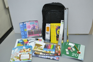 School Supplies for underprivileged children in Pata Rat and Sannicoara