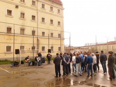 Roma Day celebrated in the Aiud Penitentiary